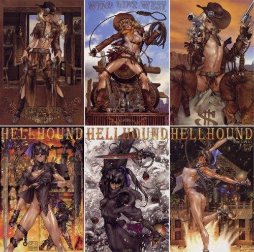 Illustraciones del Artbook 'Intron Depot' - Album Hellhound
